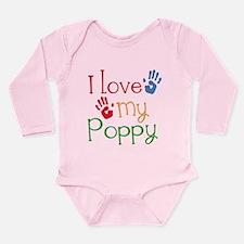I Love Poppy Onesie Romper Suit