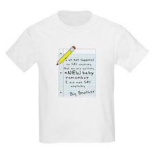 letter Kids T-Shirt