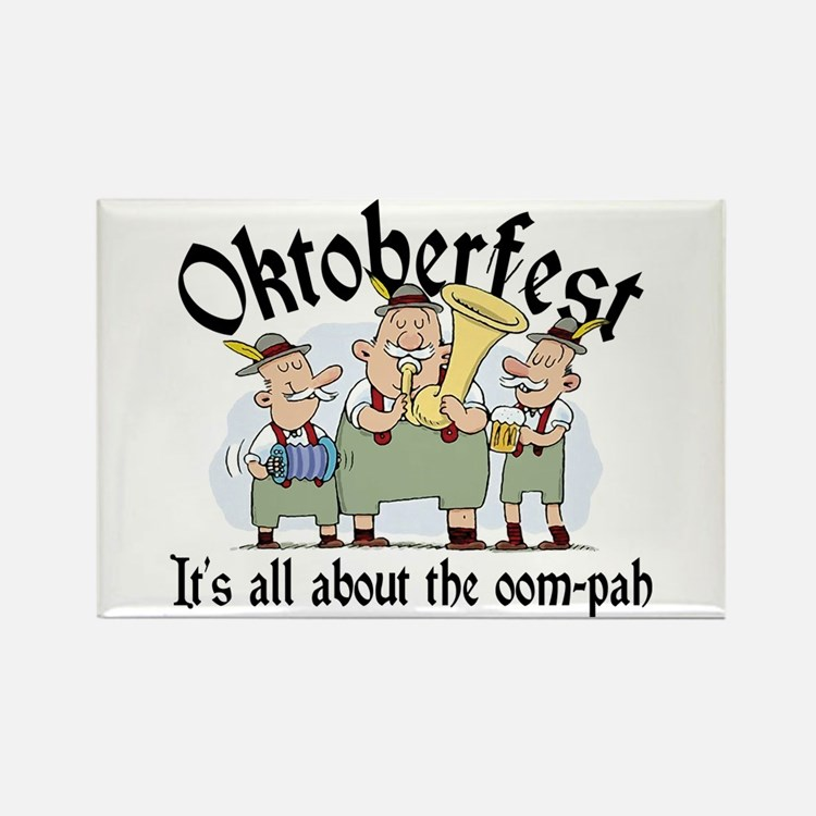 Funny Oktoberfest Rectangle Magnet