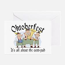 Funny Oktoberfest Greeting Cards (Pk of 10)