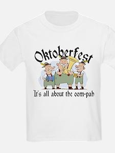 Funny Oktoberfest Kids T-Shirt