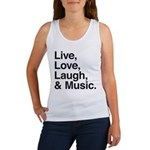 love and music Women's Tank Top