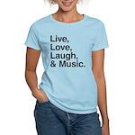 love and music Women's Light T-Shirt