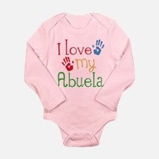 I Love Abuela Long Sleeve Infant Bodysuit