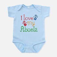 I Love Abuela Infant Bodysuit