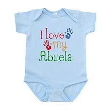 I Love Abuela Onesie