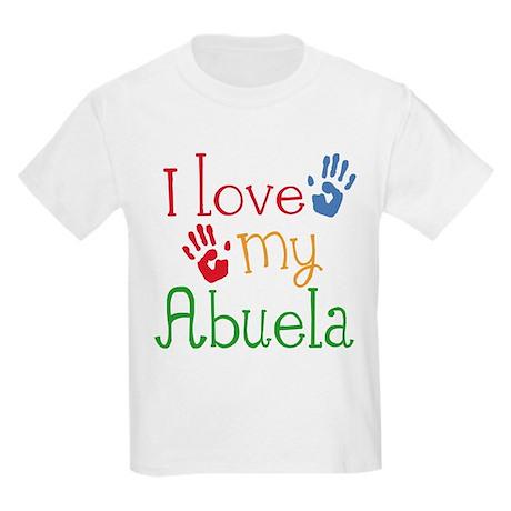 I Love Abuela Kids Light T-Shirt