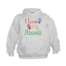 I Love Abuela Hoodie