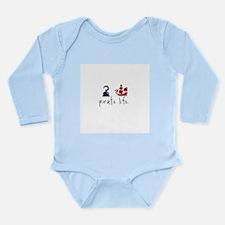 Pirate Life Long Sleeve Infant Bodysuit