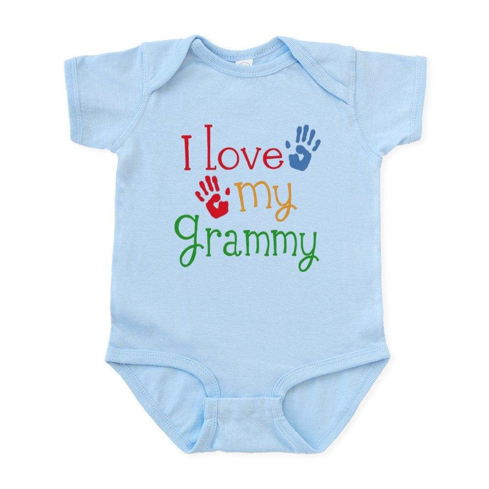 CafePress I Love Grammy Infant Bodysuit