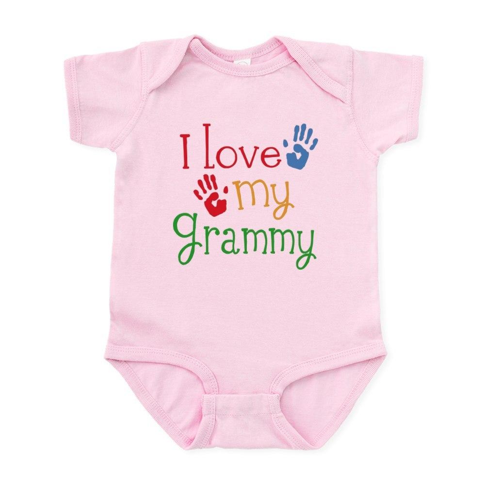 655856016 CafePress I Love Grammy Infant Bodysuit Baby Bodysuit