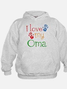 I Love Oma Hoodie