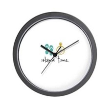 Island Time Wall Clock