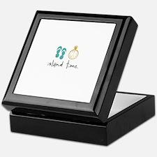 Island Time Keepsake Box