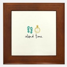Island Time Framed Tile