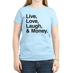 love and money Women's Light T-Shirt