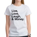 love and money Women's T-Shirt