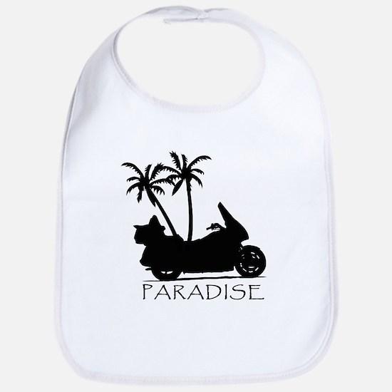 Wing in Paradise Bib