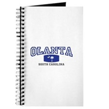 Olanta South Carolina, SC, Palmetto State Flag Jou