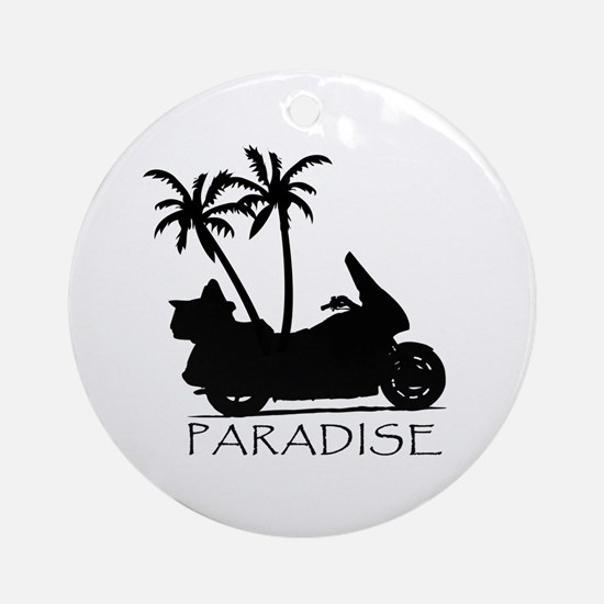 Wing in Paradise Ornament (Round)
