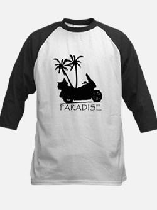 Wing in Paradise Kids Baseball Jersey