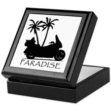 Wing in Paradise Keepsake Box