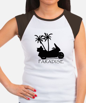 Wing in Paradise Women's Cap Sleeve T-Shirt