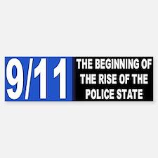police state... Bumper Car Car Sticker
