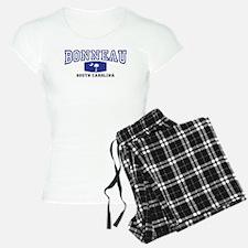 Bonneau South Carolina, SC, Palmetto Flag Pajamas
