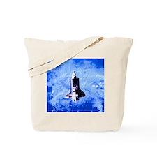 Challenger Blue Tote Bag