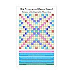 """IPA Crossword Game Board (11""""x17"""")"""