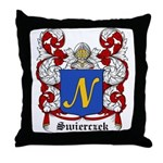 Swierczek Coat of Arms Throw Pillow