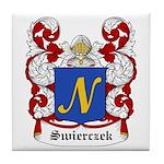 Swierczek Coat of Arms Tile Coaster