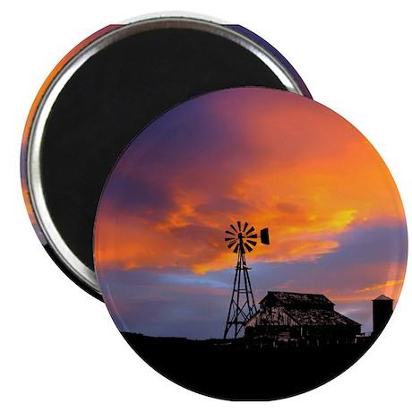 Sunset on the Farm Magnet
