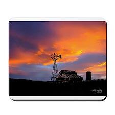 Sunset on the Farm Mousepad