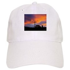 Sunset on the Farm Baseball Cap