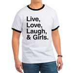 live love laugh girls Ringer T