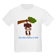 First Birthday Monkey T-Shirt