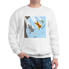 Squirrel and Basejumpers Cartoon Sweatshirt