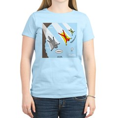 Squirrel and Basejumpers Cartoon T-Shirt