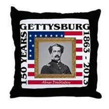 Abner Doubleday - Gettysburg Throw Pillow