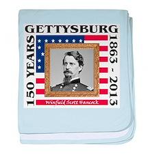 Winfield Scott Hancock - Gettysburg baby blanket