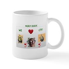 Nerd Birds We Love CTP Mug