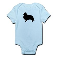 Sheltie Infant Bodysuit