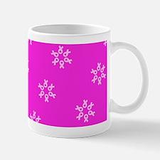 Pink Ribbons Breast Cancer Awareness Survivor Mug