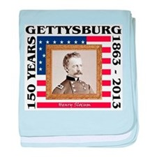 Henry Slocum - Gettysburg baby blanket