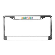Gabriella License Plate Frame