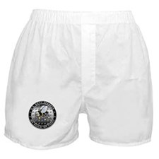 US Navy Seabees Swarm Boxer Shorts