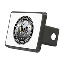 US Navy Seabees Swarm Rectangular Hitch Cover