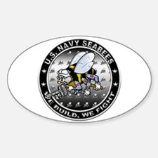 US Navy Seabees Swarm Decal